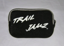 Black with Silver Trail Jamz Neoprene Case