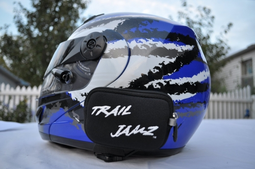 Trail Jamz In Helmet Speakers like skull candy for your Brain!